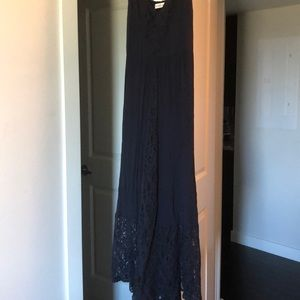 Abercrombie maxi dress with lace detailing